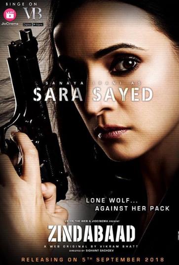 Zindabaad Poster- Sanaya