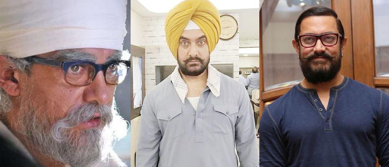 Aamir Khan looks in Lal Singh Chaddha
