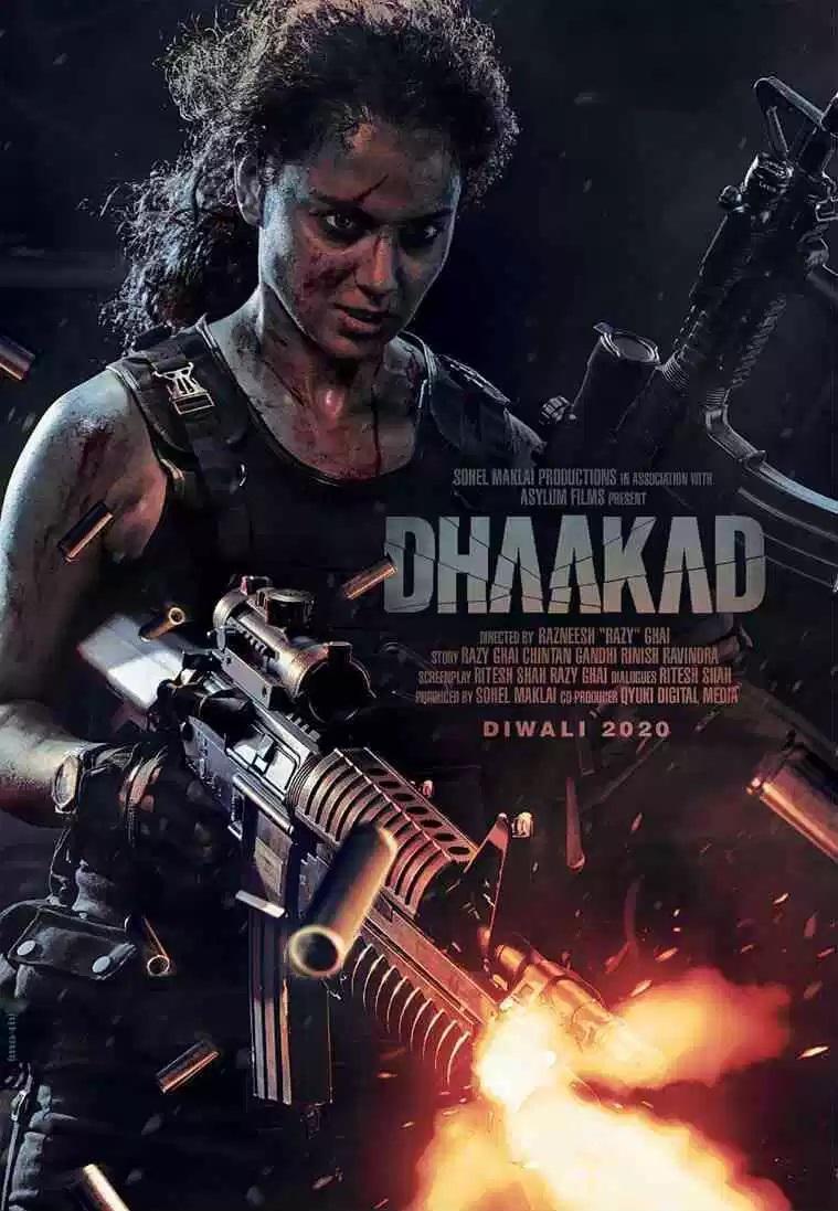 Kangana Ranaut Dhaakad First Look