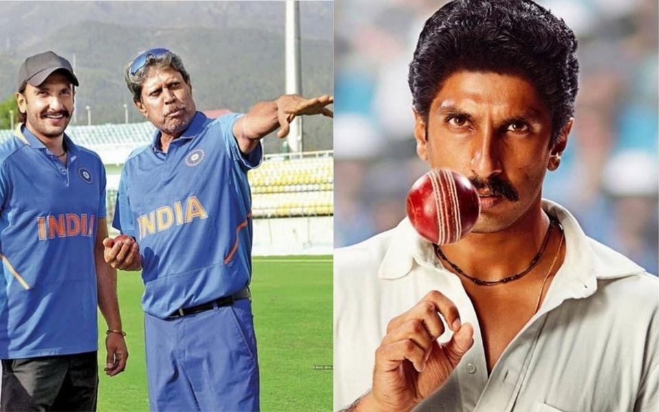 Ranveer Singh 83 New Look Kapil Dev