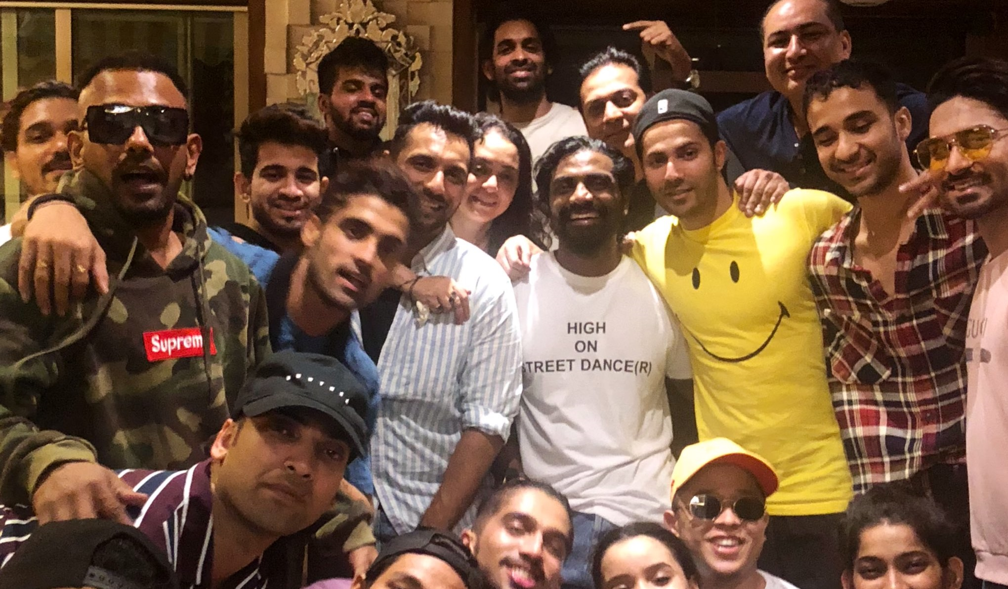 Wrap Up Party of Street Dancer 3D
