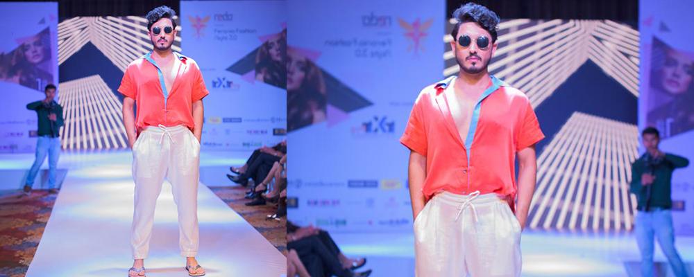 Amit at Feronia Fashion Night
