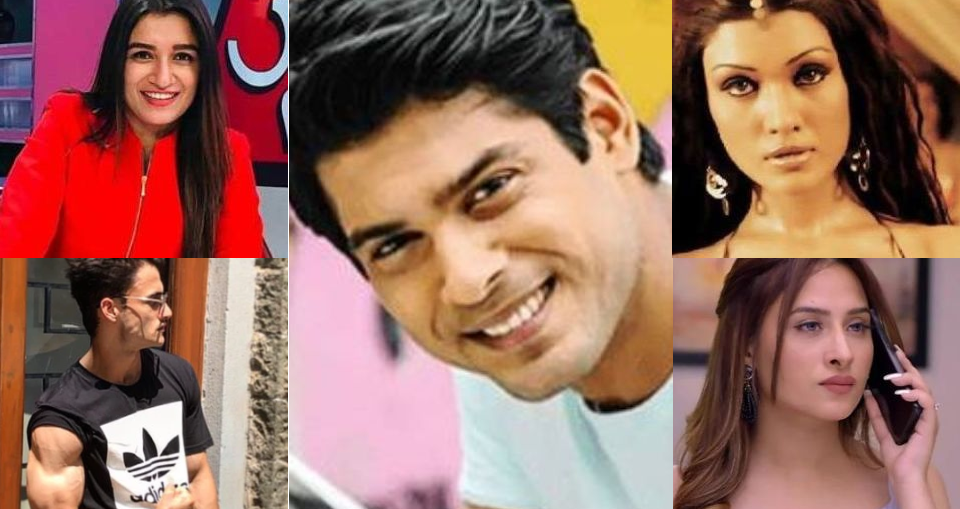 Complete List Of Bigg Boss Season 13 Contestants Check It