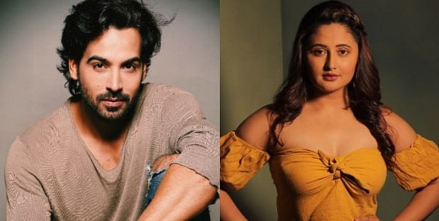 Arhaan Khan and Rashami Desai