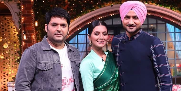Harbhajan Singh at The Kapil Sharma Show