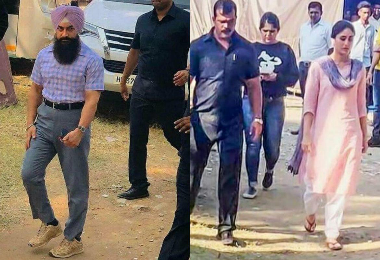Aamir Khan and Kareena Kapoor Laal Singh Chaddha