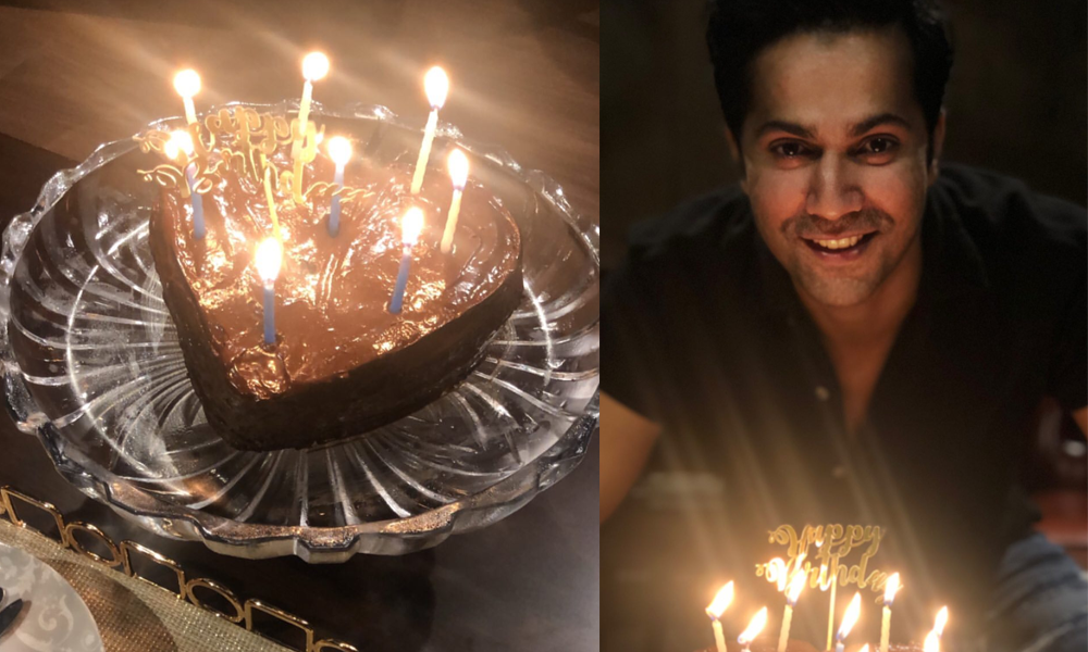 Varun Dhawan Birthday Cake